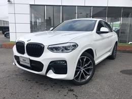 BMW X4 xドライブ20d Mスポーツ ディーゼルターボ 4WD 黒革 20AW ウッドP 黒グリル ワンオナ
