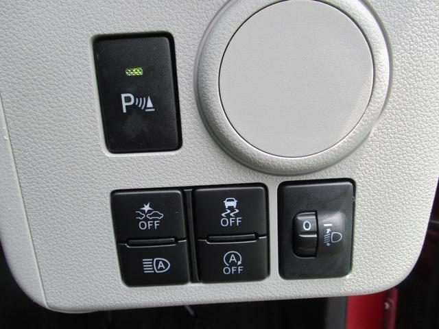 各機能のスイッチ類がハンドル右下部に集約されています☆