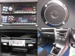 アルパインオーディオ CD再生 社外スピーカー ETC装備