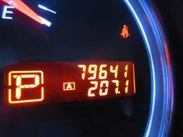 走行距離は約8万kmです。まだ走れますのでティアナでお出かけしましょう!