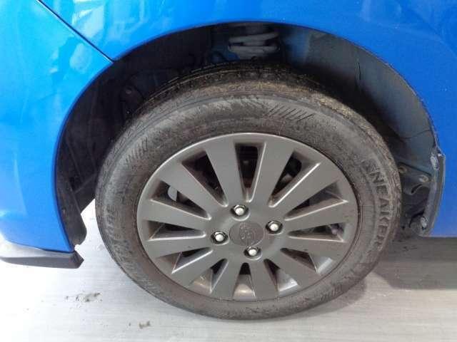 納車時に新品タイヤに交換させて頂きます