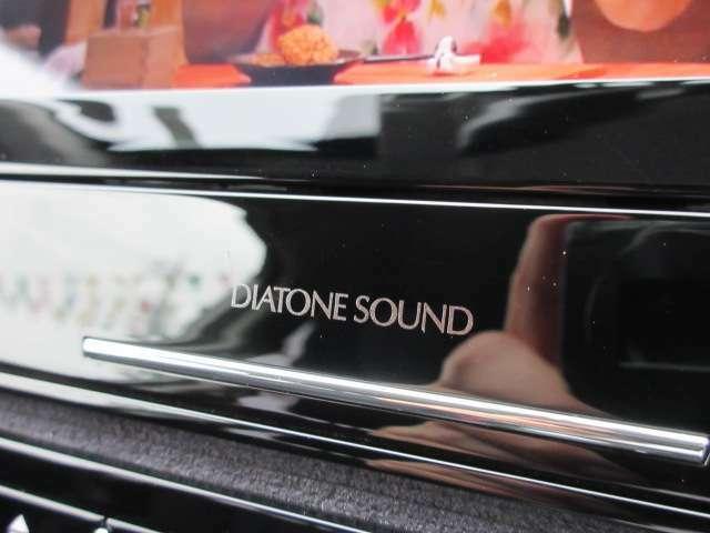大人気のダイアトーンナビ搭載♪ オーディオシステムもワンランク上の音質を感じることが出来ます♪ モニターサイズも大きく人気のモデルとなります♪