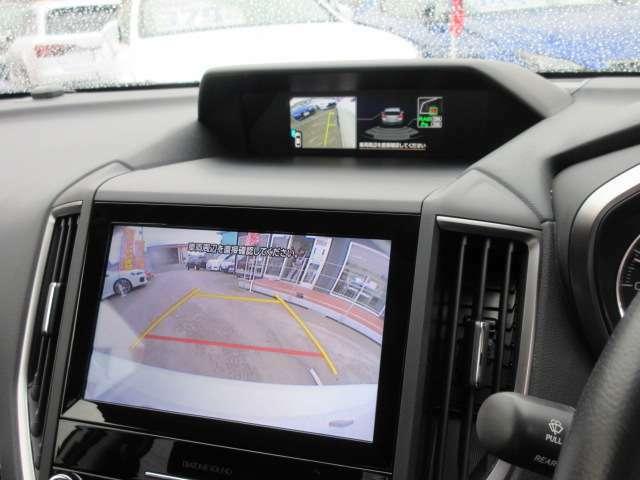 ダイアトーン8型メモリーナビ付き♪ ガイド線付バックカメラで駐車も安心ですね♪ 広角のカメラを使用しております♪