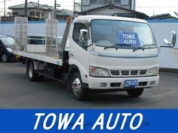 トヨタ ダイナ 4.9 ワイド 超ロング 高床 ディーゼル 花見台 車輌積載車 ラジコン付き