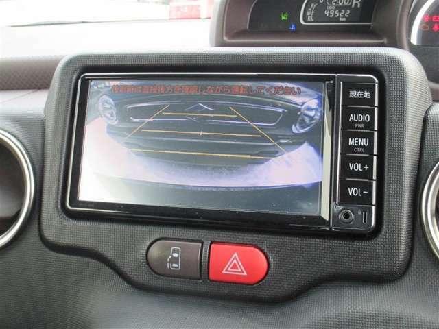 バックモニター付です!後退時に後方映像が見えるので安心♪死角が減って思わぬ事故にも役立ちます。