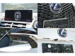 ■メーカーオプションのパノラミックビューモニターを装備しておりますので、安全に駐車をしていただくことが可能です。