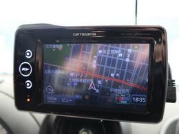 ●ポータブルナビが装備されています!遠方へのドライブも快適に過ごせます!
