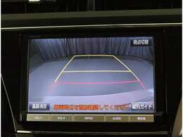 バックモニター搭載で車庫入れも安心!バック中の死角部分がモニターに映し出されるので安全性アップ!