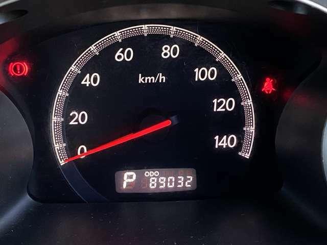 <メーター>走行距離9万kmです!