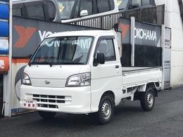 ダイハツ ハイゼットトラック 660 エアコン・パワステスペシャル 3方開 4WD 5MT 荷台ゴムマット 外装仕上済 禁煙