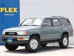 トヨタ ハイラックスサーフ 2.7 SSR-X 4WD 全塗装済 US仕様 純正車高 新品灯火