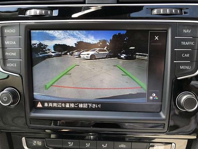 リヤビューカメラ「Rear Assist」 駐車時にも安心のバックカメラ付き!