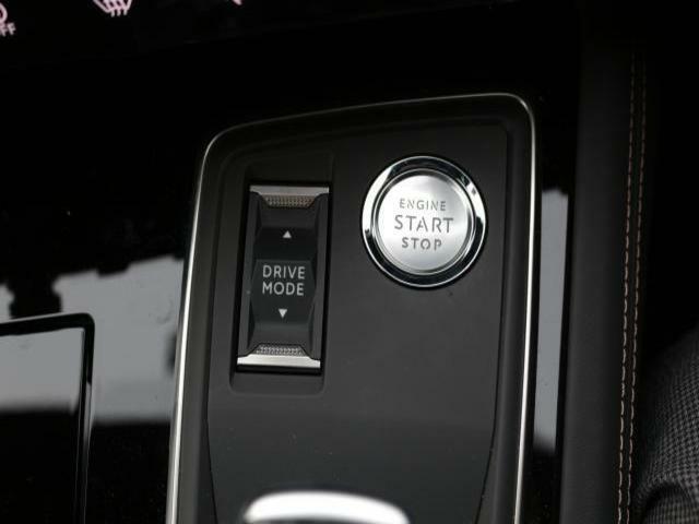 キーを携帯していれば、プッシュボタンでエンジンをスタートできます。【PEUGEOT一宮:0586261611】