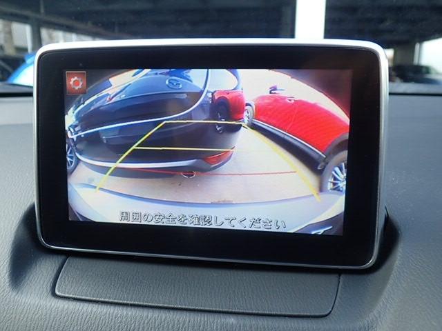 バックギア連動にてカメラ映像に切り替わります。