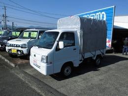 スバル サンバートラック 660 TC 三方開 4WD 幌付/エアコン パワステ パワーウィンドウ