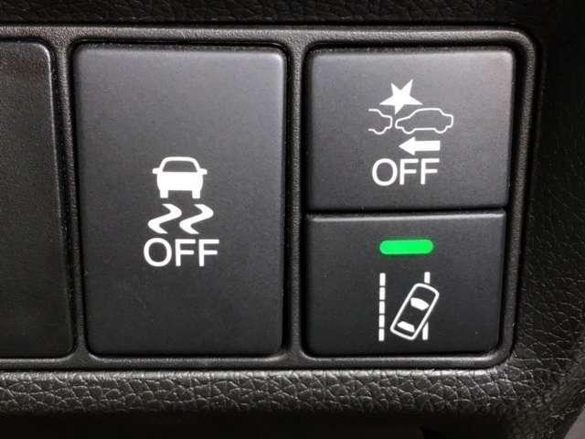HONDASENSING搭載車です。毎日の運転をより安全、そして安心できるようサポートしてくれます。