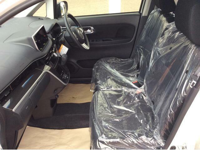 クッション性のしっかりしたシートで、長距離運転も安心ですよ