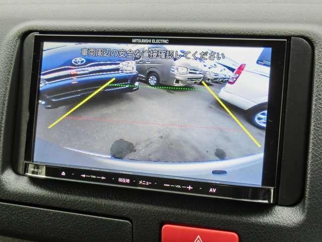 社外メモリーナビゲーション(NR-MZ20)が装備されています。Bluetooth対応です。