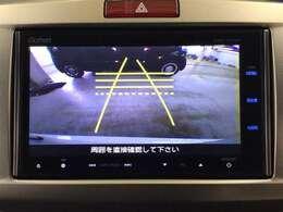 とっても便利なリアカメラ付きで車庫入れも安心して行えます♪