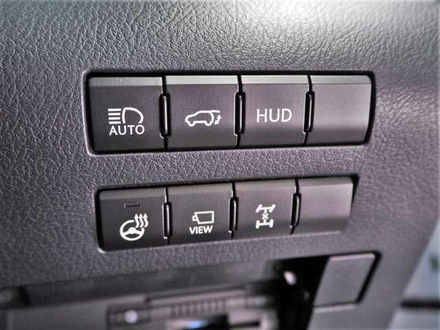 オートマチックハイビーム/パワーバックドア/ヘッドアップディスプレイ/ステアリングヒーター/カメラビュースイッチ/AWDロックモード