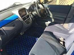 禁煙車・イクリプスSDナビ地デジTV・DVD・SIECLEサブコンインジェクターコントローラー・オートエアコン・青×黒フロアーマット
