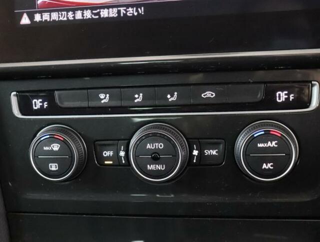 ★2ゾーンエアコンディショナーが装備されています。運転席と助手席、それぞれ独立して温度風量の調整が可能です。花粉やダストの除去に加えて、アレルゲン除去機能も付加しています。