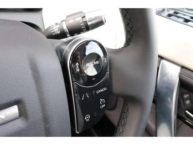 前方のお車と安全な距離を保ち、安心、快適なドライブをサポートします。