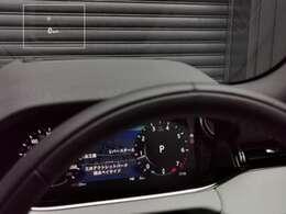 【ヘッドアップディスプレイ メーカーオプション参考価格154,000円】行き先表示やオーディオ情報などをフロントガラスへ投射、視線を逸らすことなく必要な情報を得ることができます。