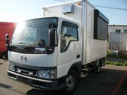 マツダ タイタンダッシュ 移動販売車 キッチンカー フードトラック シャッター窓 換気扇 Bモニター 床加工