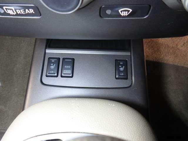 パートタイム4WD付きです♪ 路面状況などに応じて、スイッチ一つで2WD 4WDの切り替えが可能です☆