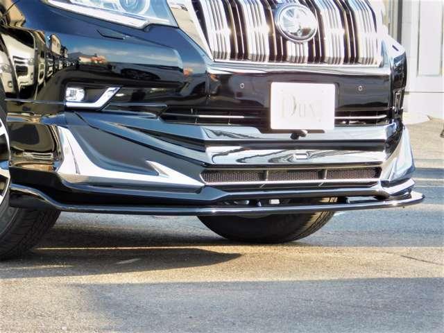 モデリスタフロントスポイラー! オプションにてエルフォードアンダーウィングも取付可能!