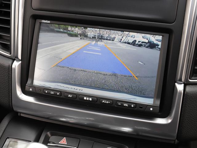 駐車の際に便利なバックカメラとパークアシストセンサー