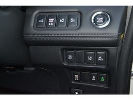 ハンドル右下にスイッチ類がございます。