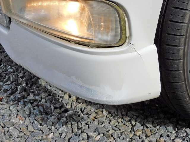 スリキズ・補修跡などがあります。現車にてご確認ください。鈑金など別途ご相談に応じます。