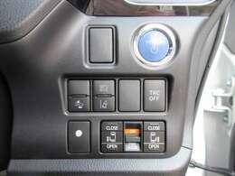 プッシュスタート機能&スマートキーシステム♪ 両側パワースライドドア機能&トヨタセーフティーセンス付き♪ 充実しております♪