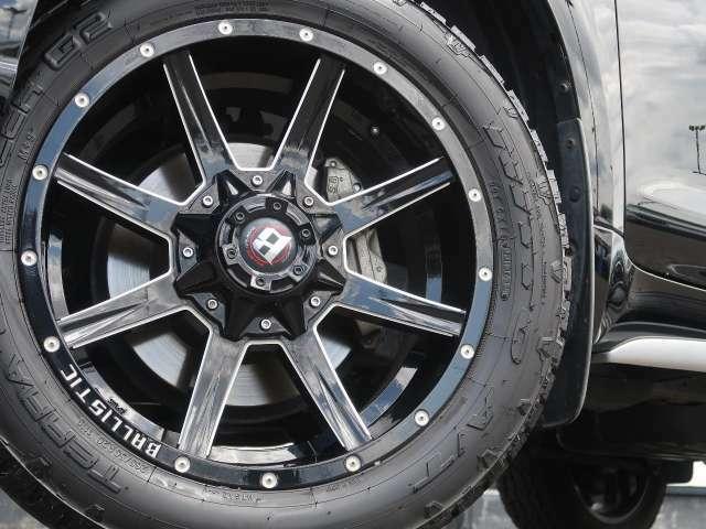 【タイヤ】Ballis20インチアルミを装備♪【タイヤ含む参考価格320.000円】ネクステージでは、冬用スタッドレスタイヤセットも販売中です!お気軽にご相談ください♪