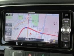 カロッツェリアメモリーナビゲーション搭載。フルセグTV視聴やDVD再生、Bluetooth接続などご利用可能なハイスペックナビです。
