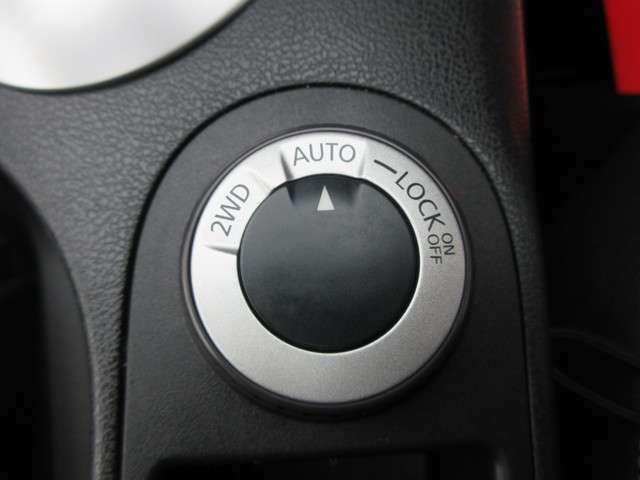 2WD-4WD切り替え付、デフロックも付いてます☆
