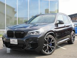 BMW X3 M コンペティション 4WD LED21AW黒革ヘッドUPハーマンACC禁煙1オナ