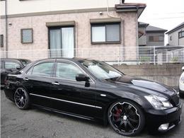 トヨタ クラウンアスリート 2.5 プレミアムエディション 19AW 車高調 黒本革シート フルセグTV
