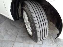 タイヤの残りは十分です。