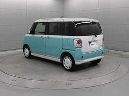 デザイン性と機能性を両立した新感覚スタイルワゴンの軽乗用車「ムーヴキャンバス」です。