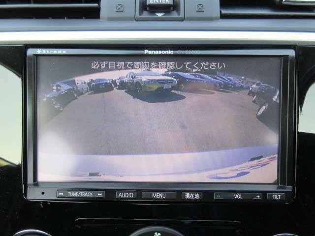バックカメラ☆駐車時も安心です!