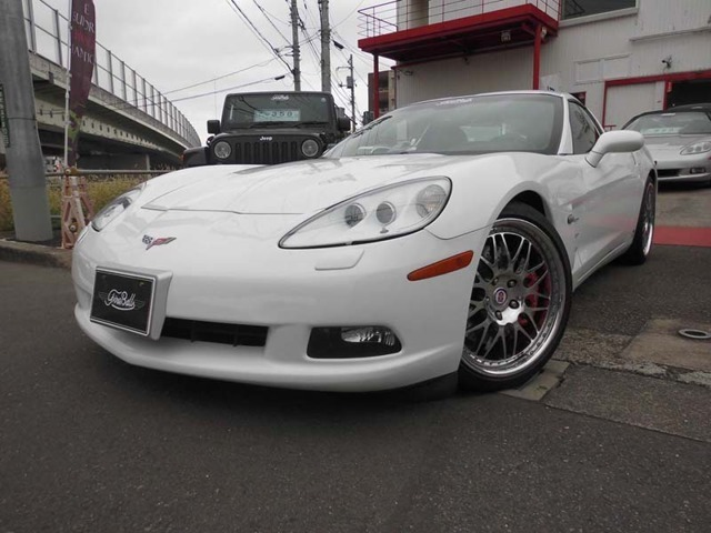 2006年モデルコルベットT-TOPホワイトが入庫しました。