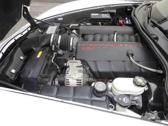 V8 6.2L LS2エンジン 400PS(カタログ値)