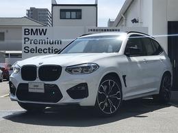 BMW X3 M コンペティション 4WD グレーレザー サンルーフ 20インチAW
