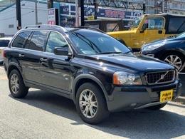 ボルボ XC90 ブラックパールエディション 4WD 禁煙限定車レザーシートナビバックカメラ