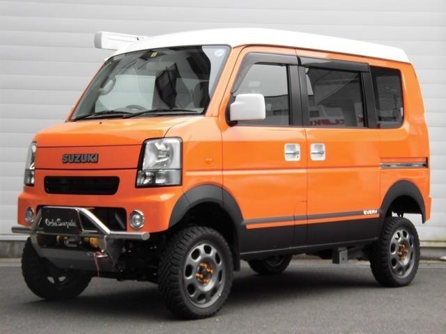 全塗装済・CD・バックカメラ・4WD・リフトアップ・サイドオーニング