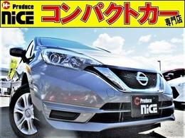 日産 ノート 1.2 X 後期型・安全ブレーキ・プッシュスタート