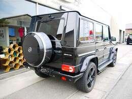 G500L 正規ディーラー車 AMGルック・フルカスタム車両 20インチアルミ オーバーフェンダー マフラー 電動格納付ドアミラー 社外フルセグTV付ナビ・バックカメラ